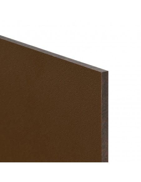 Brązowa płyta budowlana i wykończeniowa o wielkości 120cm x 70cm x 0.6cm