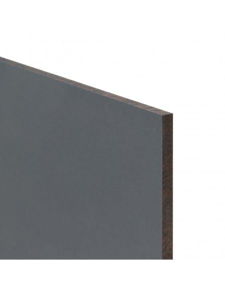 Antracytowa płyta budowlana i wykończeniowa o wielkości 120cm x 210cm x 0.6cm