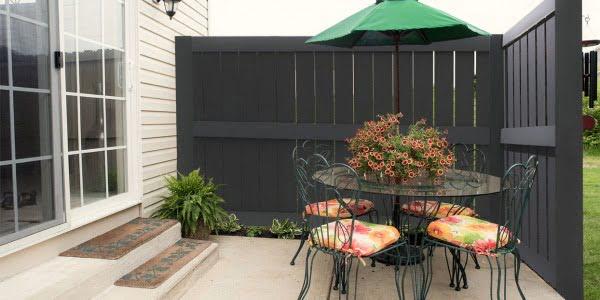 Płyty na ogrodzenia - Laminat dekoracyjny jako ogrodzenie